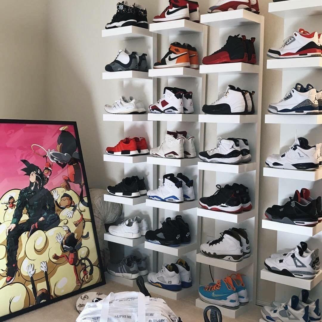 Pin By Whitney Lee On Home Interior Sneaker Storage Shoe Room