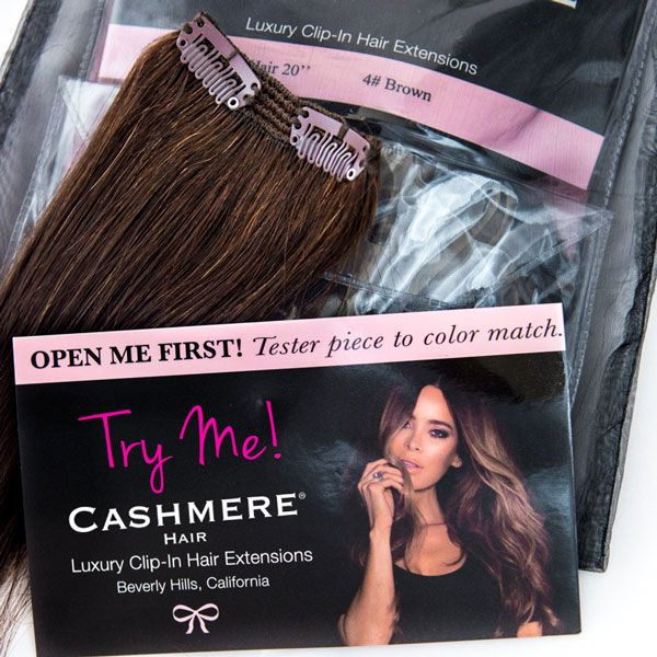 Cashmere Hair Tester Piece. Shop NEW Cashmere Hair Now! As seen on ...