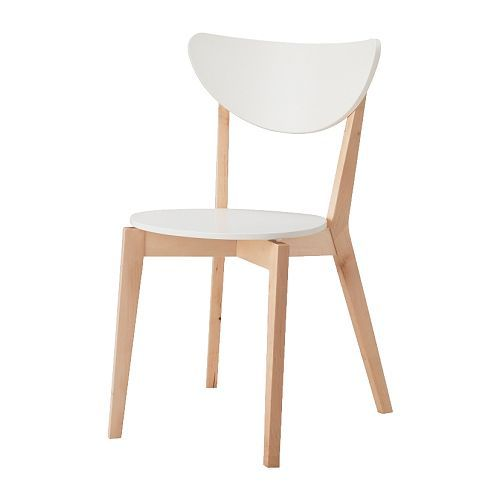 White modern chair ikea White Plastic Nordmyrachairwhite Pinterest Nordmyra Chair white Birch Furniture To Buy In Manila
