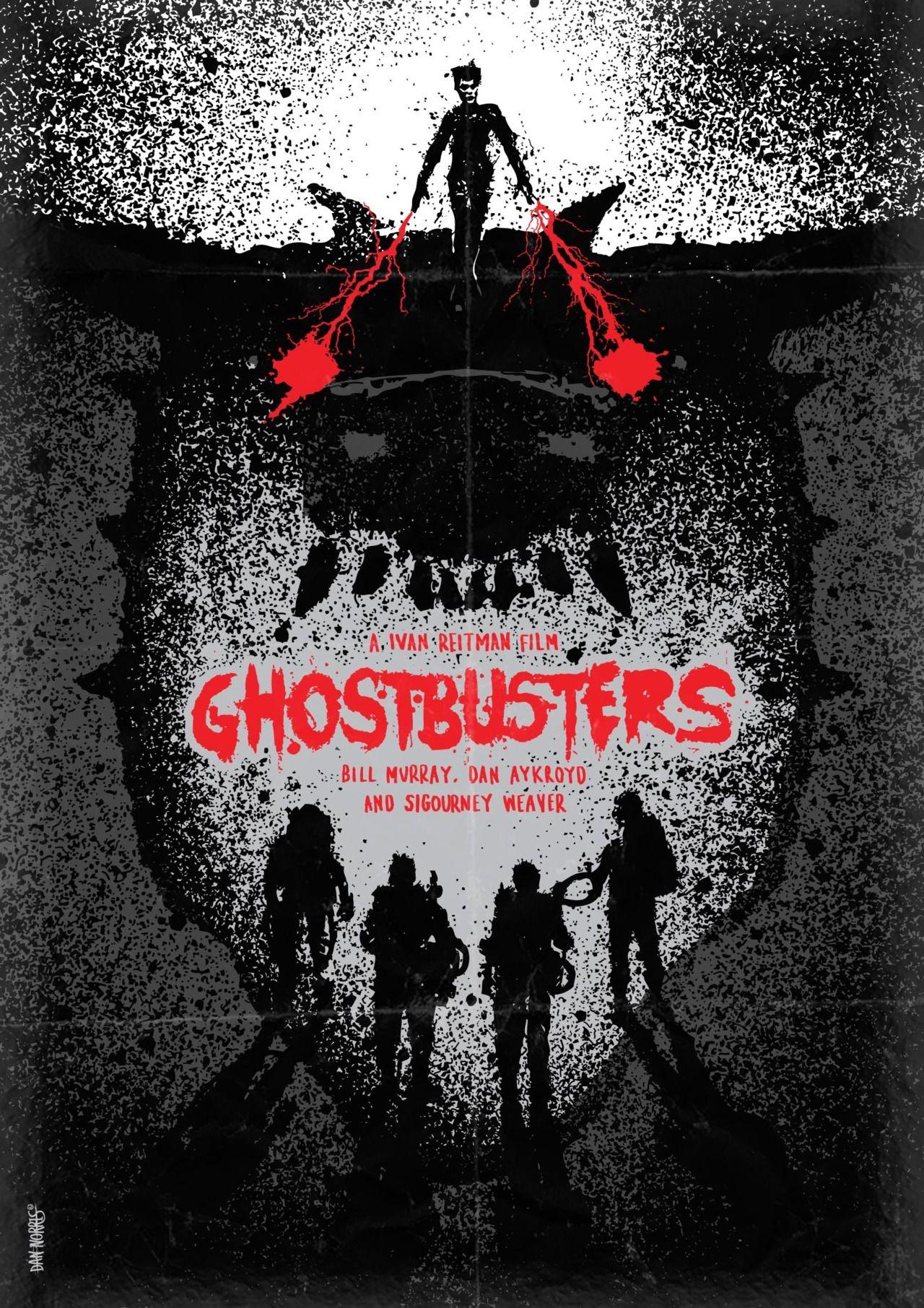 Ghostbusters 1984 Alternative Movie Poster By Daniel Norris