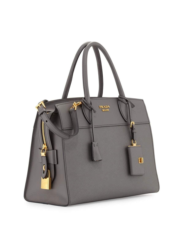 Prada Medium Esplanade Tote Satchel Bags Bags Used Designer Handbags