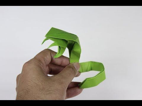 Origami Snake How To Make 3D Cobra Attacking
