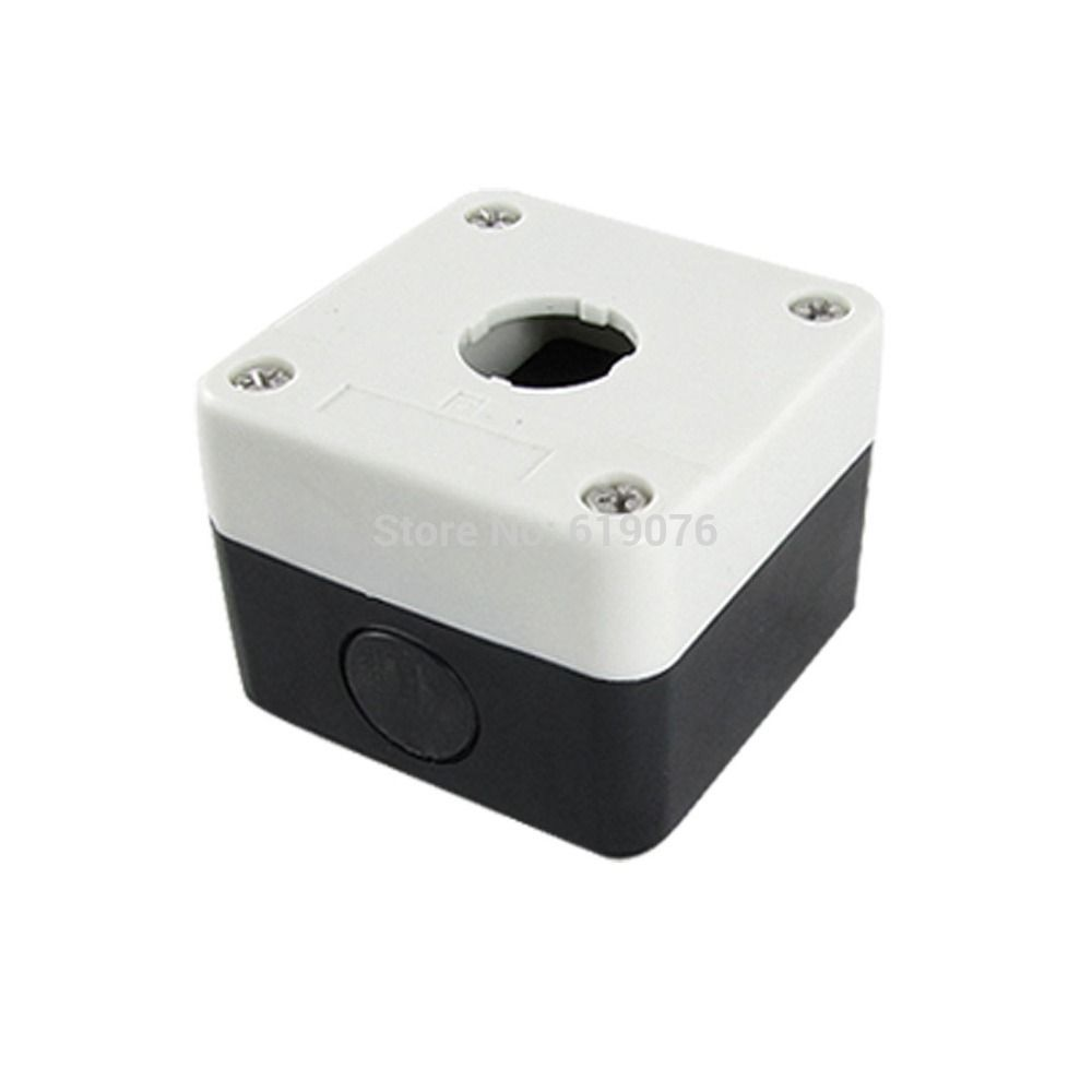 Plastic Control Station 1 Switch 22mm Push Button Case Box China Circuit Breaker Electrical Equipment