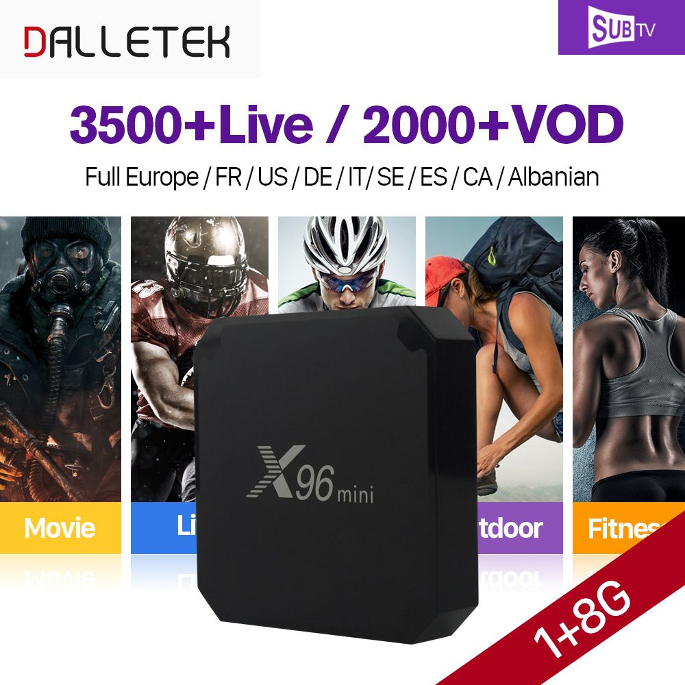 US$50 21, 20% - 90% off, Feb only  X96 mini IPTV French Box