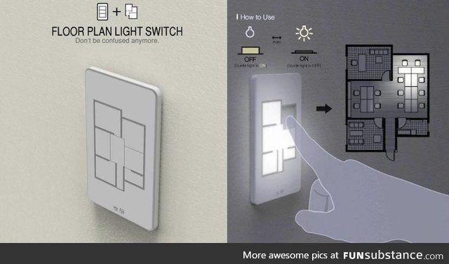 A floor plan light switch dope floor plans home interior design can lights - Floor plan light switch ...