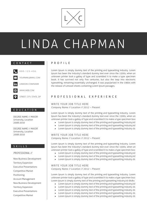 Professional Resume Template Cv Template Cover Letter Etsy Resume Template Professional Resume Template Resume Words