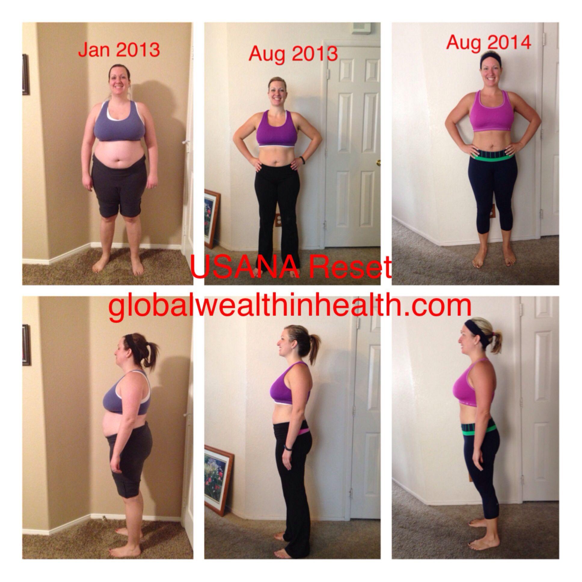 Health And Weight Transformation Usana Reset Program
