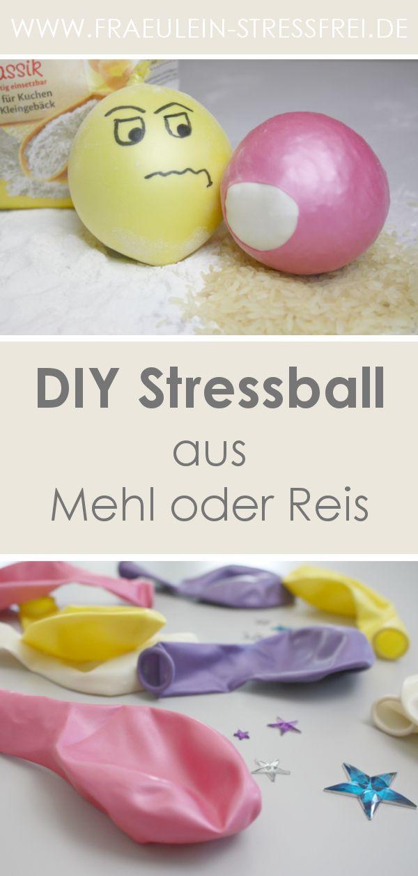 Heute Wird Gebastelt Diy Stressball Stressball Diy Stressball