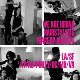 We are hiring #hair #makeup #hairstylists #makeupartists #mua who love helping women look and feel #beautiful ! #ny #nyc #nj #philly #westchester #hudsonvalley #ct #longisland #la #sf #losangeles #sanfrancisco #dc #md #va Apply online at: mghairandmakeup.com/careeropportunities