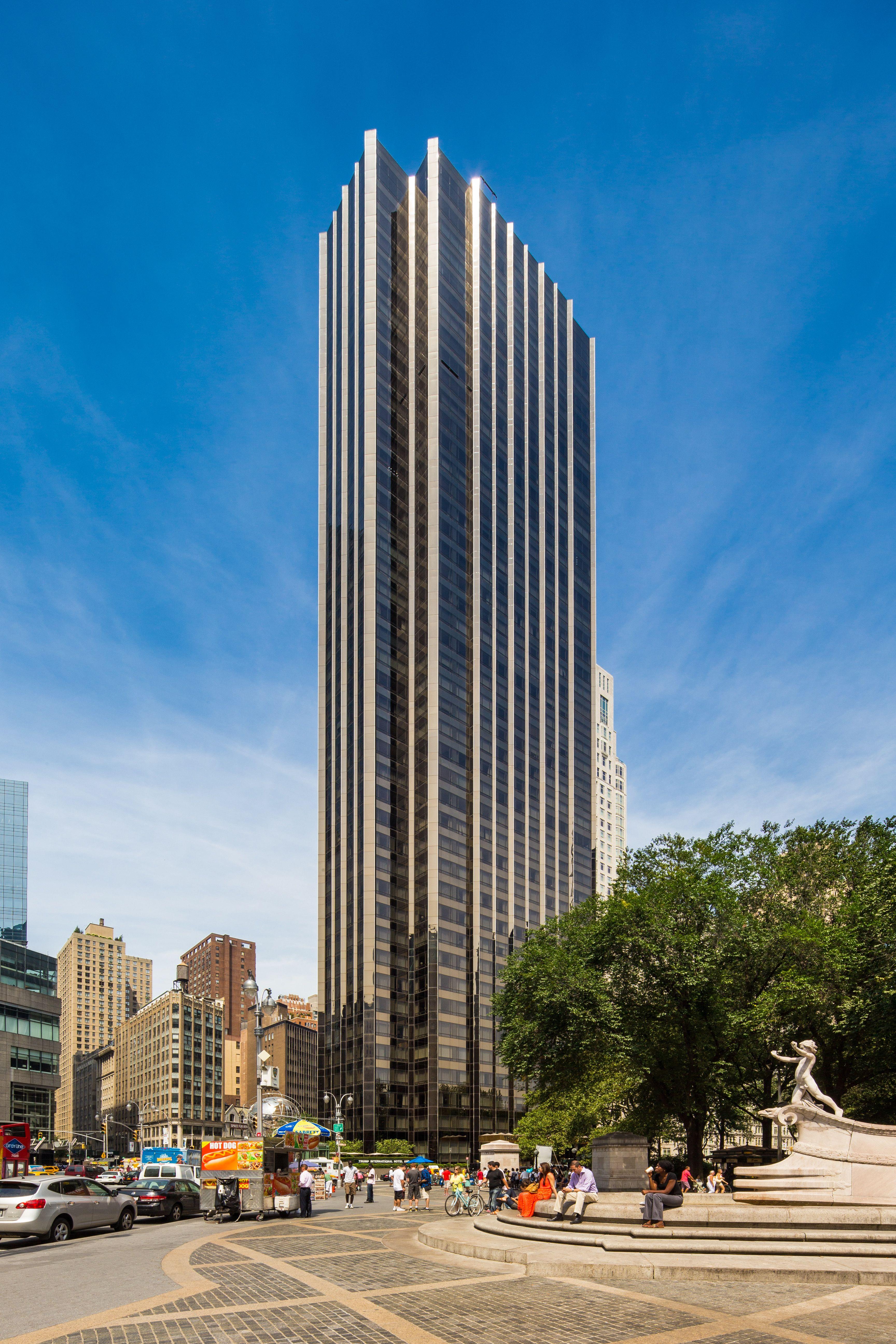 Trump International Hotel & Tower. New York City. New York   Beautiful buildings. Creative architecture. Glass building