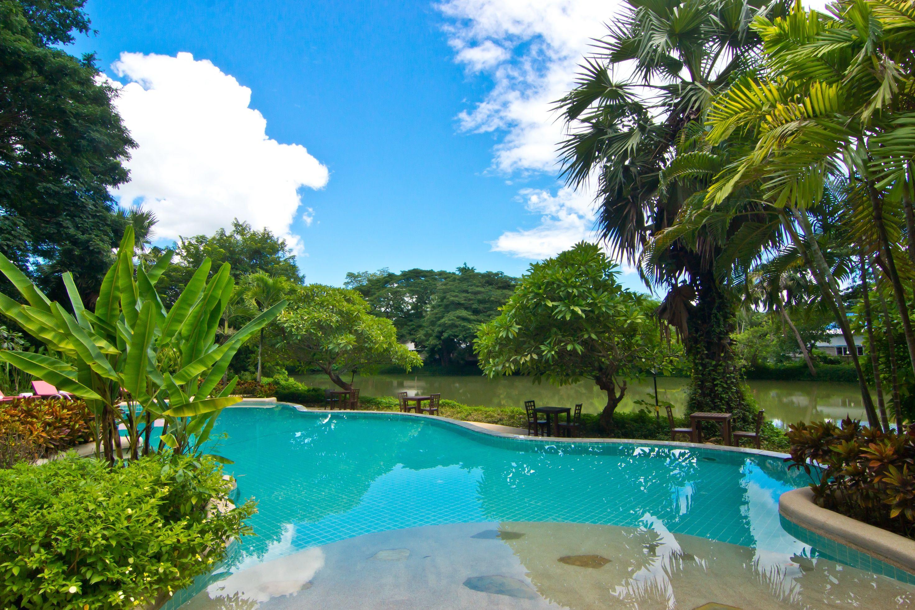 Relaxing corner near the river in Lampang. SwimmingPool