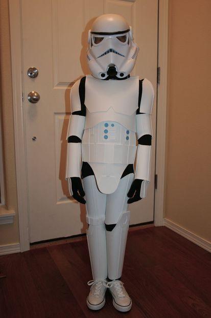 Kid S Stormtrooper Costume Storm Trooper Costume Kids Diy Storm Trooper Costume Storm Trooper Costume