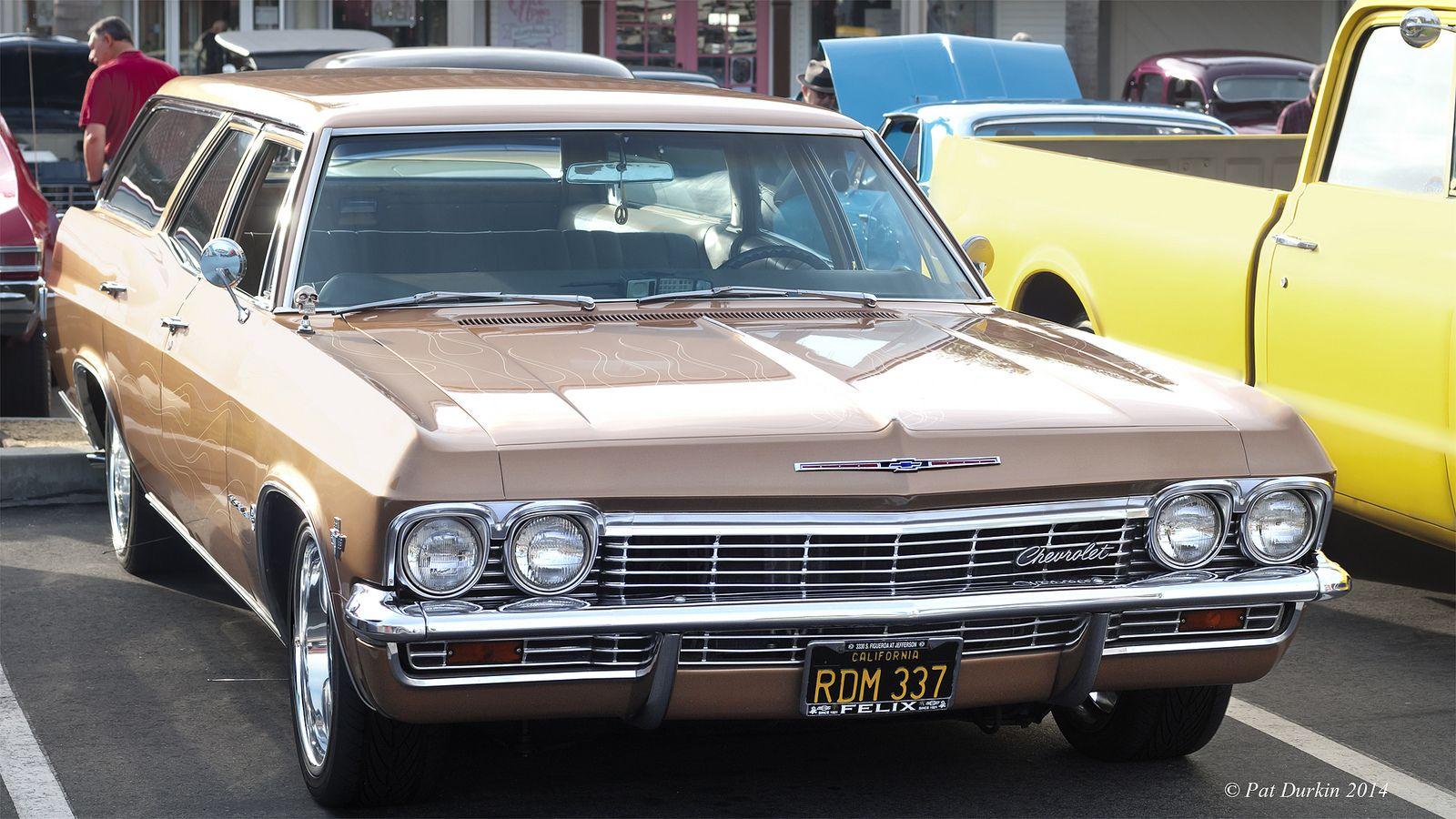 1965 Chevrolet Biscayne 4 Door Station Wagon Station Wagon