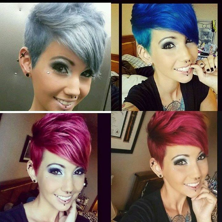 20 Cute Shaved Hairstyles For Women: Short Hair Beauty : Photo