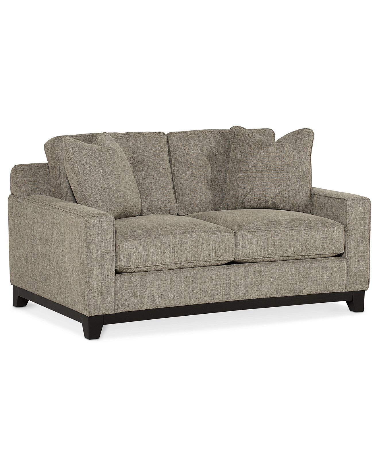 Sale 749 00clarke Fabric Loveseat 62 W X 38 D X 29 H Love Seat Furniture Loveseat Couch And Loveseat