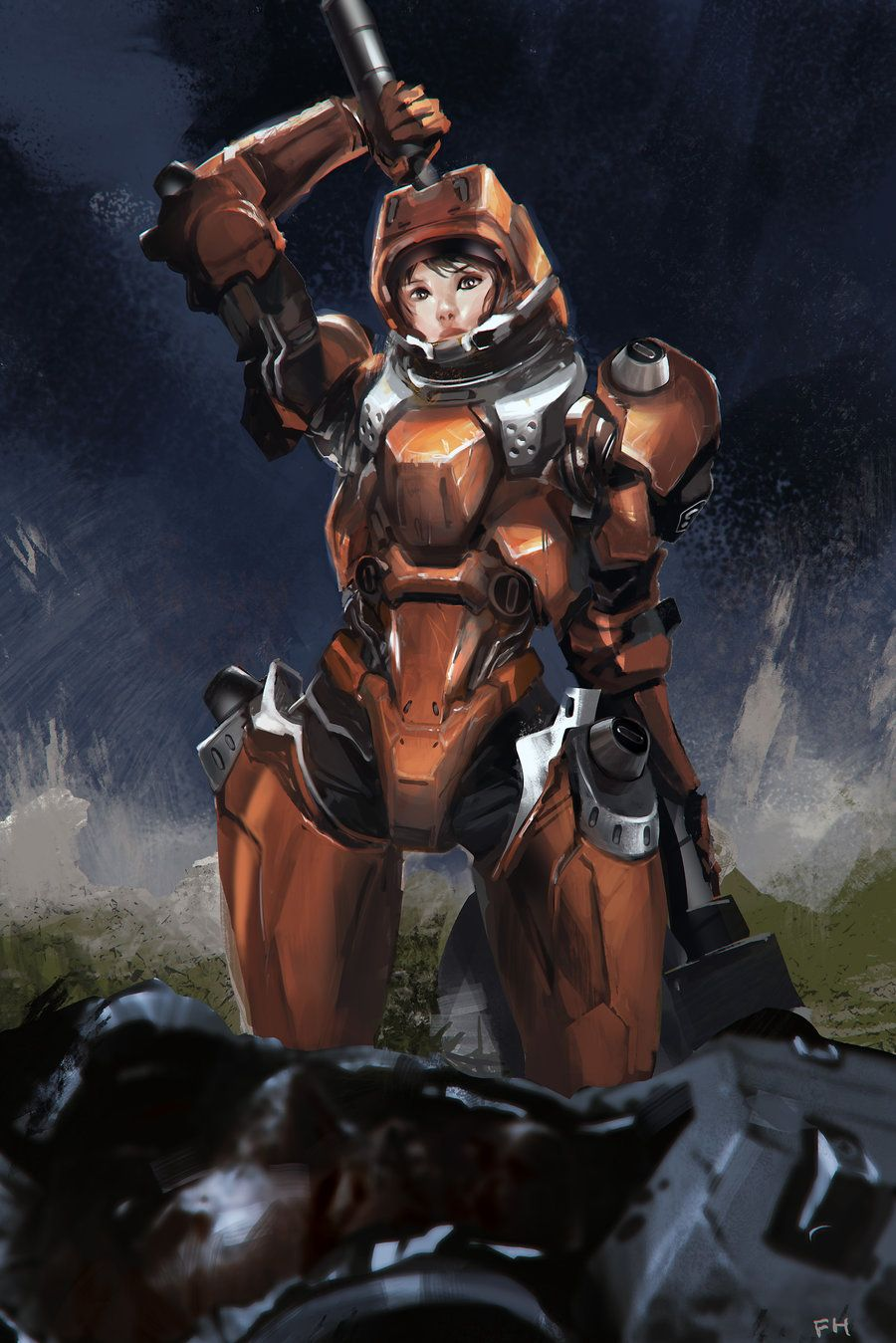All You Need Is Kill By Frankhong Art Anime Characters
