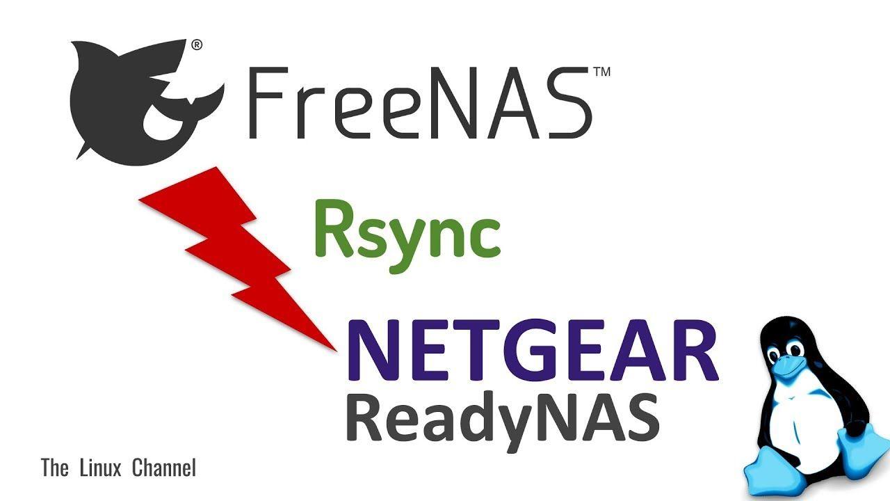 0x16f How to setup Rsync between FreeNAS Server and NETGEAR