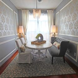Couch In Dining Room Design Ideas, Pictures, Remodel, and Decor