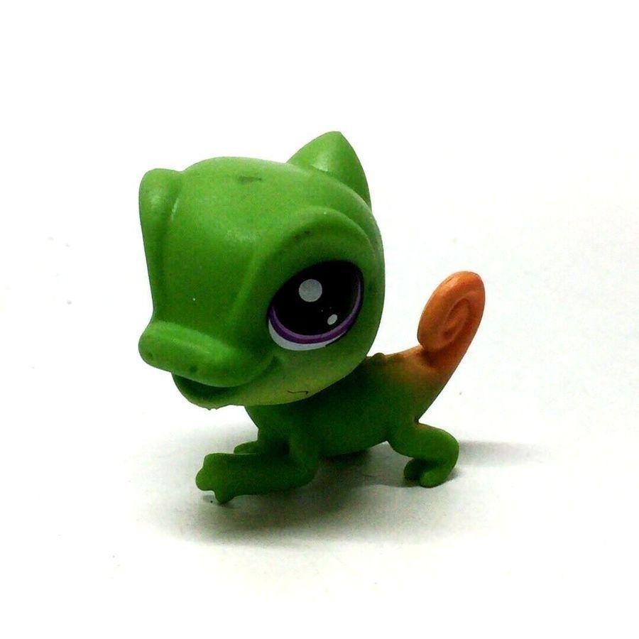 Rare Littlest Pet Shop LPS Ballena Spouts Whale Green Figure Kid Girl Toy Gift