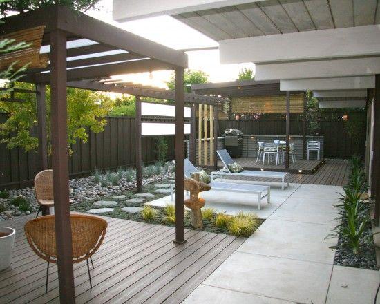 Landscape Modern Outdoor Design Pictures Remodel Decor And Ideas Modern Landscaping Modern Landscape Design Patio