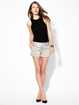 Metallic shorts. Must have.