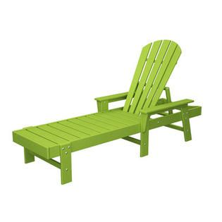 Polywood Shell Back Chaise Lounge   Finish  Lime at Sears comPolywood Shell Back Chaise Lounge   Finish  Lime at Sears com  . Sears Chaise Lounge Chairs Patio Furniture. Home Design Ideas