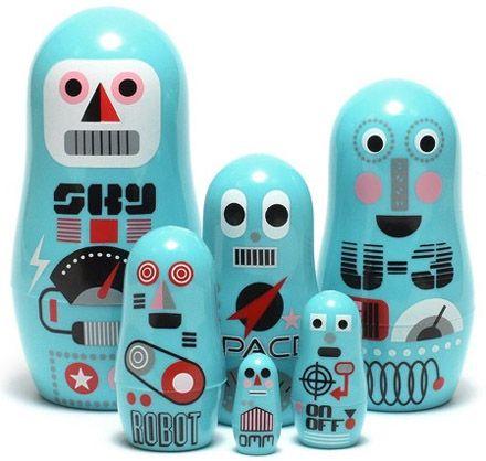 poupées gigognes version robots