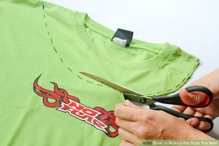 How to make a 80s style tee shirt 80s party outfits 80s