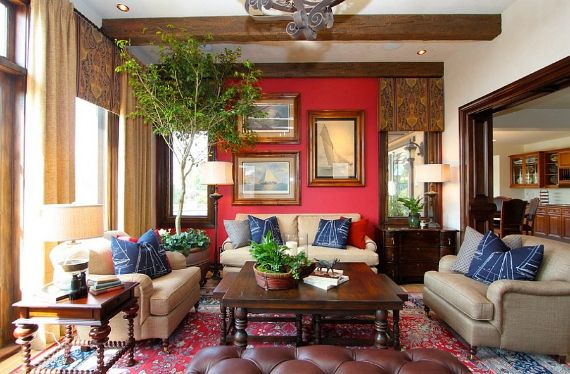 Decorating with Red Inspiration for a Beautiful Red Home Decor (5