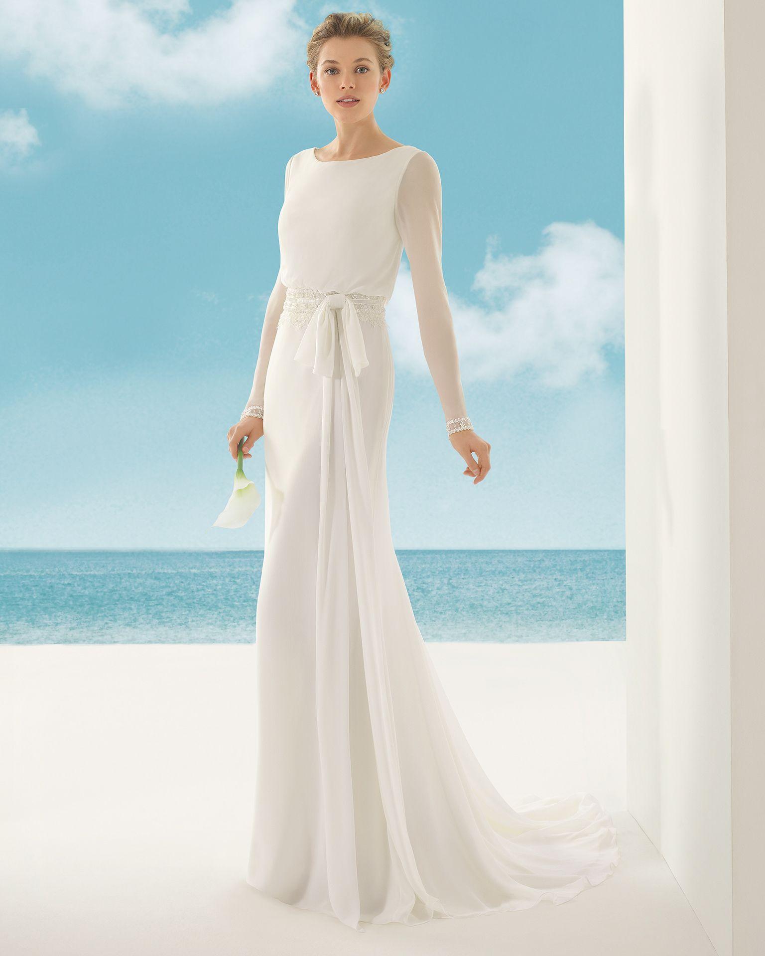 Vestidos de novia y vestidos de fiesta | Rosa clará, Rosas y Novios