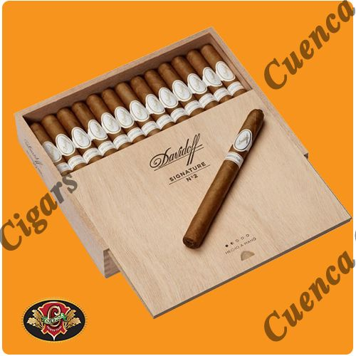 Davidoff Signature No. 2 Cigars - Box of 25 - Price: $425.90