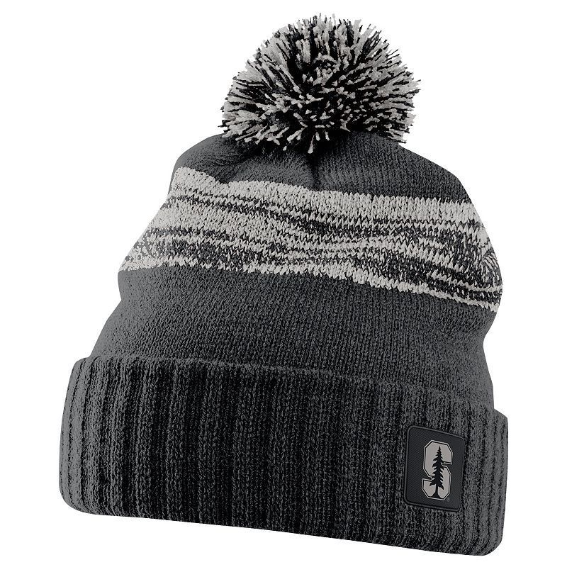 bbe1d04413f Nike Stanford Cardinal Striped Knit Beanie - Adult