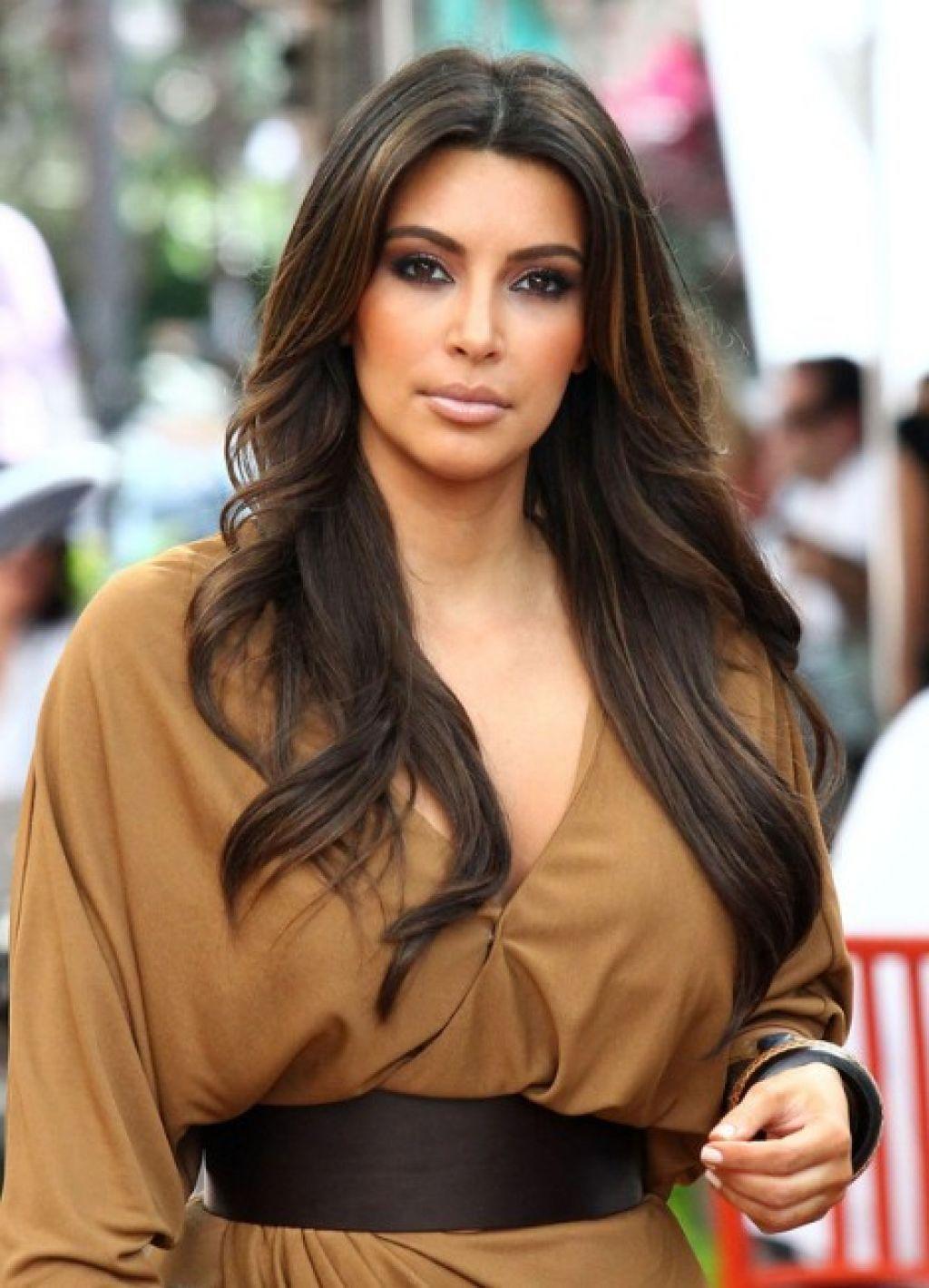 Image Result For Kim Kardashian Long Hair Layers Hair Pinterest