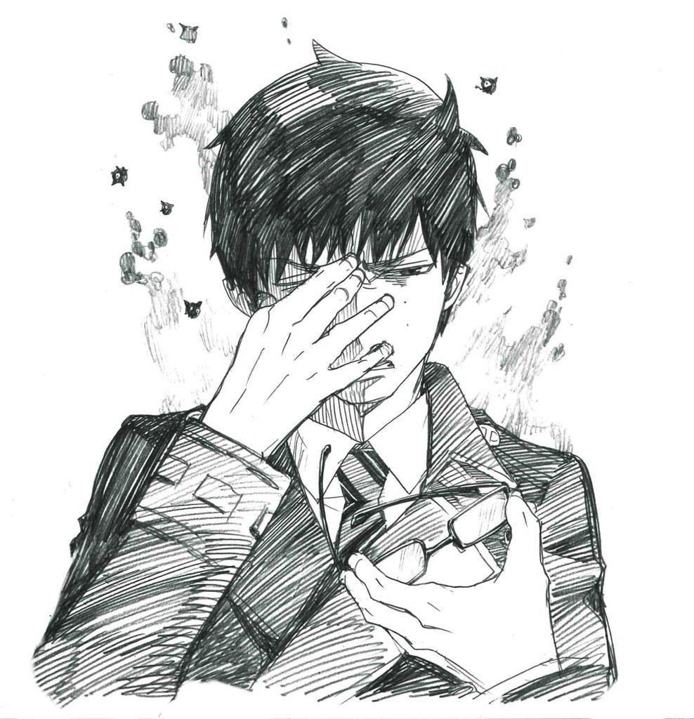 Okumura Yukio サラリーマン祓魔師 奥村雪男 青の祓魔師 奥村雪男