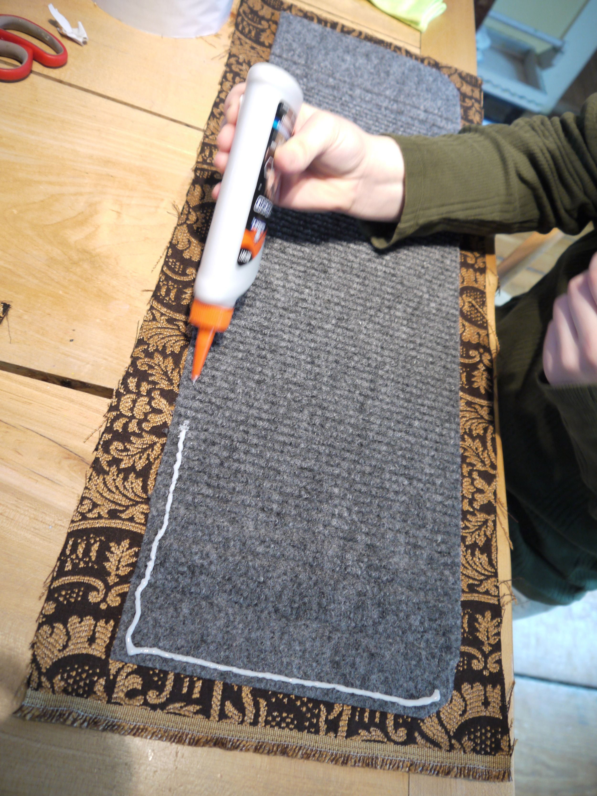 Make Your Own Carpet Stair Treads — Because L I A D A Carpet | Home Depot Carpet Treads | Ottomanson Softy | Tread Covers | Rugs | Staircase | Stairs