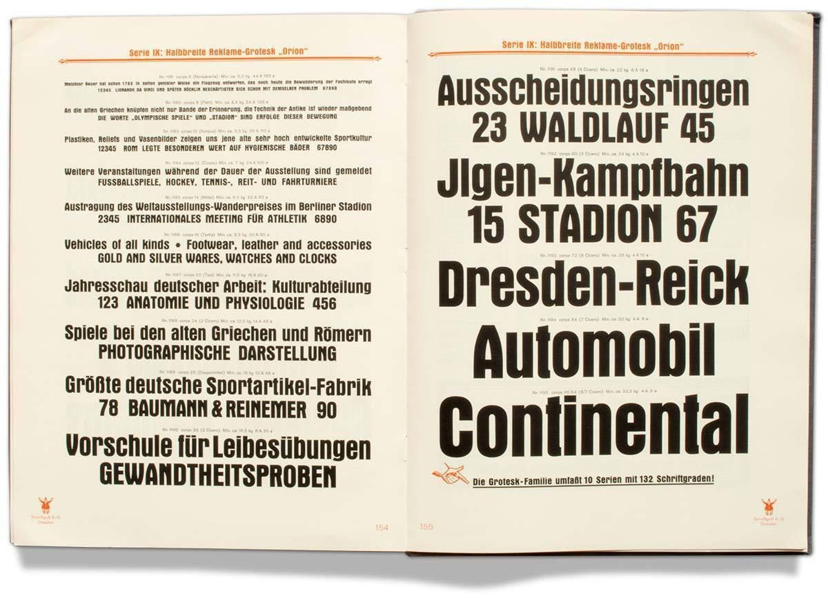 The Three Compressed Weights Of The Grotesk Serie Sirius Orion