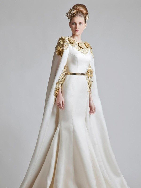 Winter Wedding Dress Capes Top Lists Colorful And