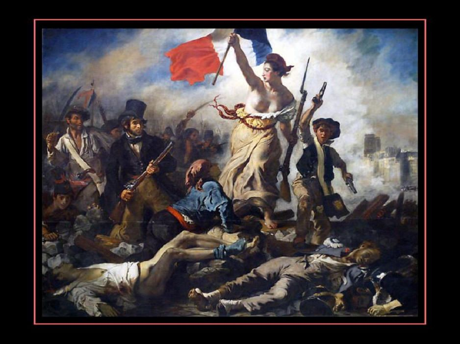Paintings In Louvre 047 Liberty Leading The People La Liberte Guidant Le Peuple By Delacroix Paintings Liberty Leading The People Eugene Delacroix