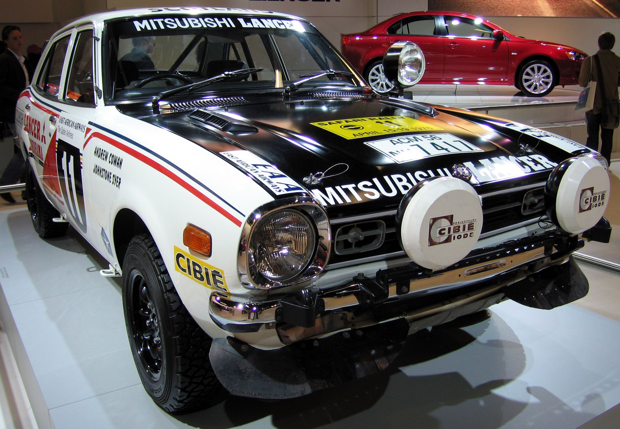 Mitsubishi Lancer Safari rally