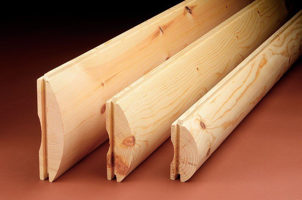White Cedar Economy 2x6 Smooth 1 3 8 X5 1 2 Face House Siding Options Log Siding Siding Options
