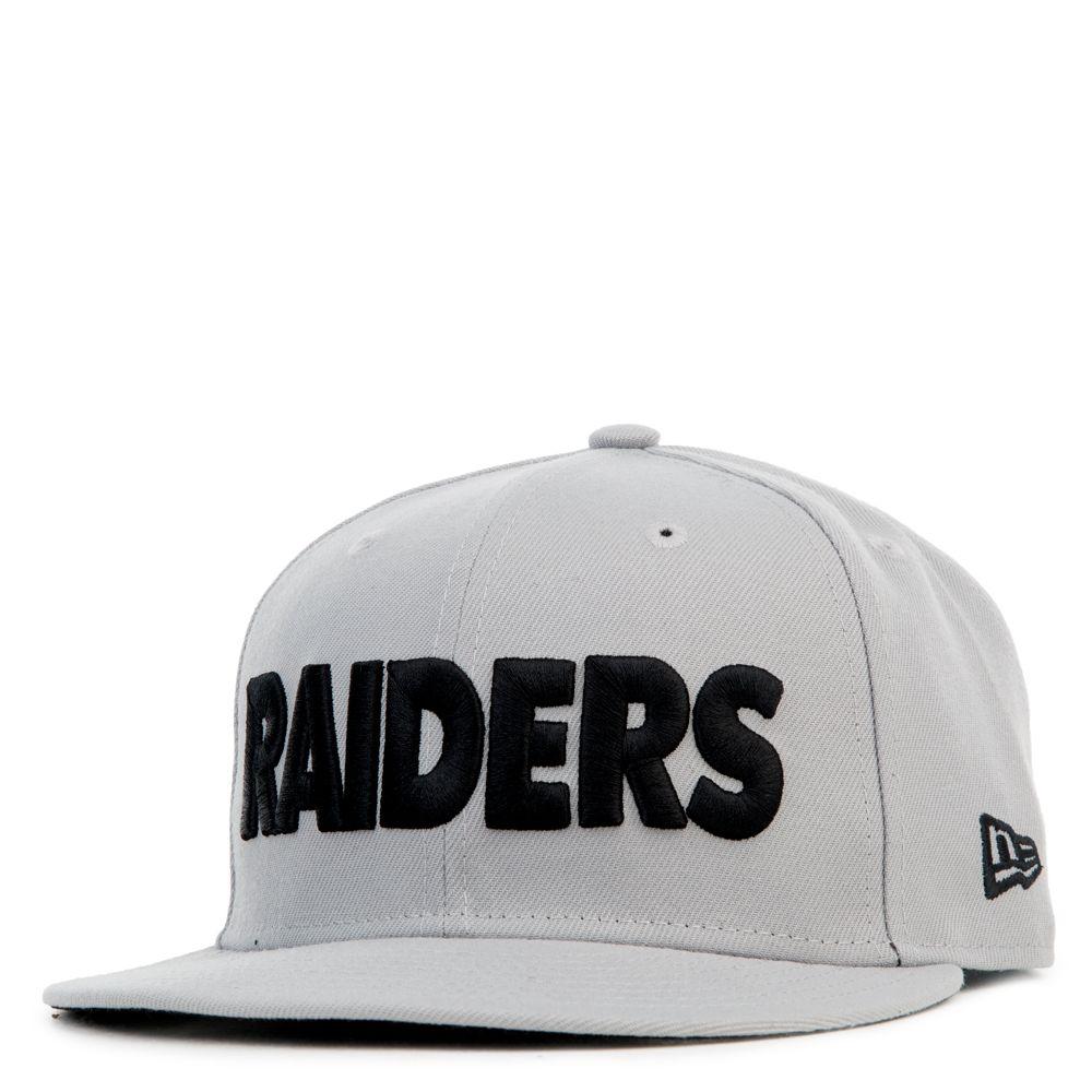 New Era Caps 950 Oakland Raiders Grey New Era Cap New Era Oakland Raiders