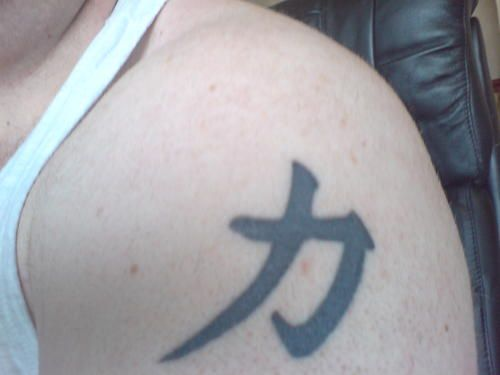 Chinese Symbols For Strength And Courage Tattoo Pictures Tattoos