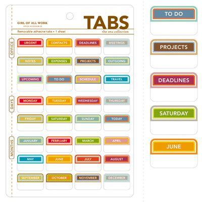 Office Tabs See Jane Work File Folder Labels Folder Labels Organization Printables