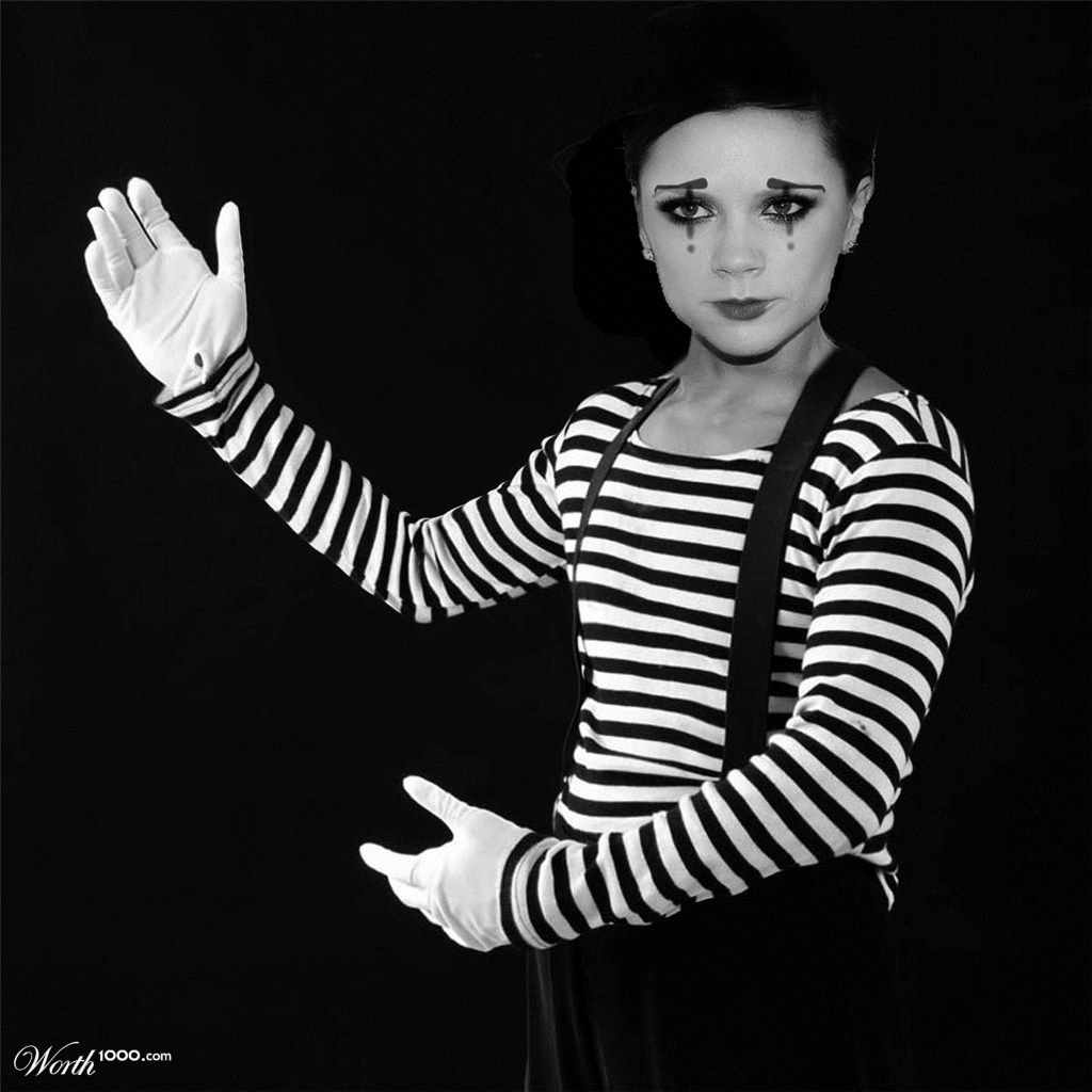 Posh Mime Artist Worth1000 Contests Mime artist