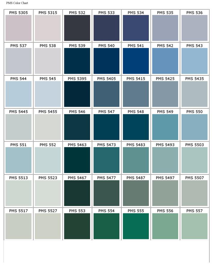 Pantone Matching System Color Chart Colours Pinterest Pantone
