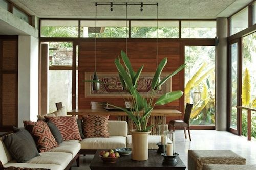 simple design with color and texture for the love of bali - Bali Home Designs