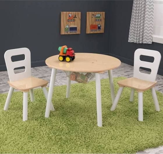 Modern Kid Table And Chairs