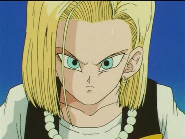 dragon ball z cell saga android 18 owns krillin androide 18 androide numero 18 androide