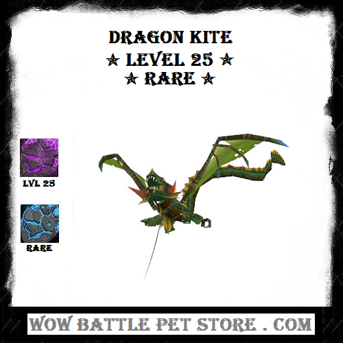 Dragon Kite Lvl 25 Wow Battle Pet Store Dragon Kite Wow Battle Warcraft Pets