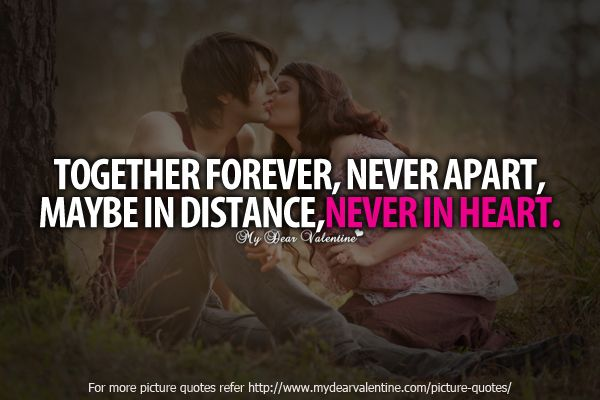 together forever quotes about love | Together Forever, never ...